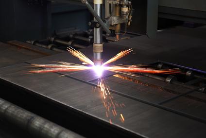 Metalltafel Lasern für Panic Room