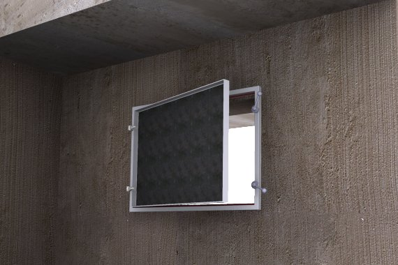 einbruchhemmendes Fernster & Fensterladen