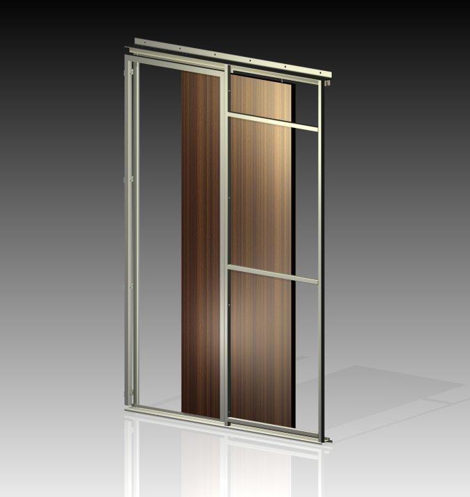 Stahlrahmen Tür